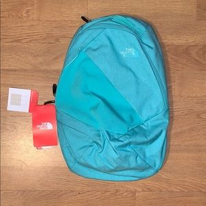 NWT The North Face Electra Backpack, Seafoam Green